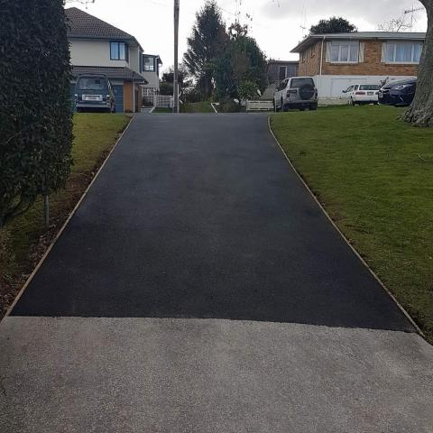 Asphalt Finish
