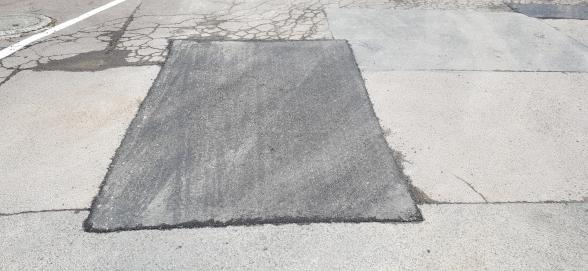 Patch Repair In Asphalt